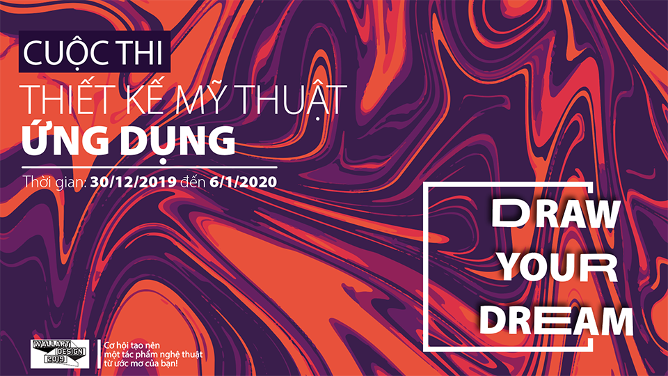 Cuộc thi WallArt Design 2019 - Draw Your Dreams